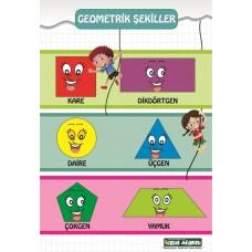 Yeni Geometrik Şekiller  1. SINIF AFİŞLERİ