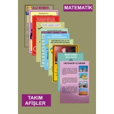 Matematik Takım Afişler TAKIM AFİŞLER